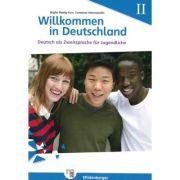 Willkommen in Deutschland Deutsch als Zweitsprache fur Jugendliche, Heft II Ubungsheft II mit Losungen - Birgitta Reddig-Korn