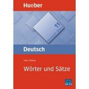 Worter und Satze Buch Satzgeruste fur Fortgeschrittene - Hans Foldeak