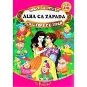 Sa citim ALBA CA ZAPADA cu litere de tipar - Fratii Grimm
