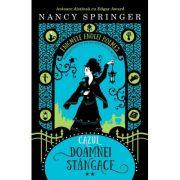 """Cazul doamnei stangace. Seria """"Enigmele Enolei Holmes"""" - Nancy Springer"""