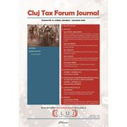 Cluj Tax Forum Journal 6/2020 - Cosmin Flavius Costas