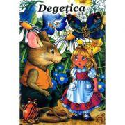 Degetica - bilingv roman - maghiar - Hans Christian Andersen