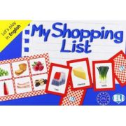 Let's play in English - My Shopping List A1-A2