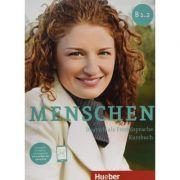 Menschen sechsbandige Ausgabe. Kursbuch B1. 2 mit online Audio - Julia Braun-Podeschwa, Charlotte Habersack, Angela Pude