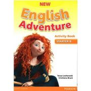 New English Adventure STARTER B Activity Book + Songs CD Pack - Tessa Lochowski, Cristiana Bruni