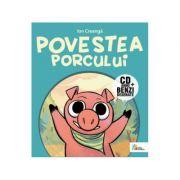 Povestea porcului. Benzi desenate + CD - Ion Creanga