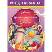 Povesti de neuitat Rapunzel, Pescarul si pestisorul de aur, Gainusa rosie