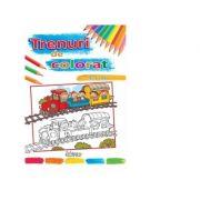 Trenuri de colorat