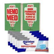 Memomed 2021, doua volume. Editia 27 - Dumitru Dobrescu + 25 masti Hygienium CADOU