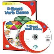 ELI Digital Language Games - The Great Verb Game - game box + digital edition