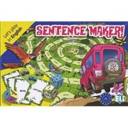Let's play in English - Sentence maker! A2-B1