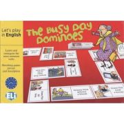 Let's play in English - The Busy Day Dominoes A2-B1