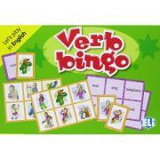 Let's play in English - Verb Bingo A1