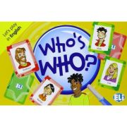 Let's play in English - Who's Who? A2