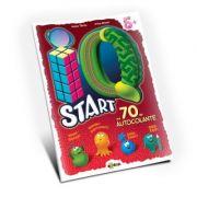 Marea carte de colorat - IQ start 5+ (cu 70 de autocolante)