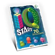 Marea carte de colorat - IQ start 6+ (cu 70 de autocolante)