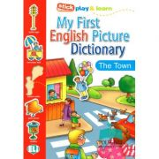 My First English Picture Dictionary - In town - Joy Olivier