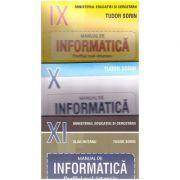 Pachet INFORMATICA clasele a IX-a, a X-a, a XI-a Profilul real-intensiv