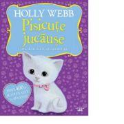 Pisicute jucause. Carte de activitati cu autocolante - Holly Webb
