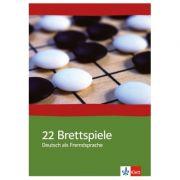 22 Brettspiele Deutsch als Fremdsprache. Eine Sammlung interaktiver Unterrichtsideen mit Kopiervorlagen - Eveline Schwarz