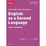 Cambridge Lower Secondary English as a Second Language, Workbook: Stage 7 - Nick Coates