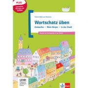 Wortschatz üben: Einkaufen - Mein Körper - In der Stadt, inkl. CD-ROM. Deutsch als Zweitsprache in der Schule. Buch + CD-ROM - Denise Doukas-Handschuh