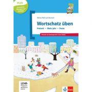 Wortschatz üben: Freizeit - Mein Jahr - Feste, inkl. CD-ROM. Deutsch als Zweitsprache in der Schule, Buch + CD-ROM - Denise Doukas-Handschuh