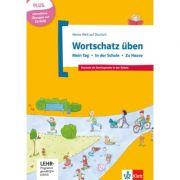 Wortschatz üben: Mein Tag - In der Schule - Zu Hause, inkl. CD-ROM. Deutsch als Zweitsprache in der Schule Buch + CD-ROM - Denise Doukas-Handschuh