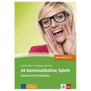 44 kommunikative Spiele. Deutsch als Fremdsprache - Susanne Daum, Hans-Jürgen Hantschel