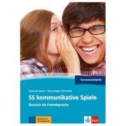 55 kommunikative Spiele. Deutsch als Fremdsprache - Susanne Daum, Hans-Jurgen Hantschel