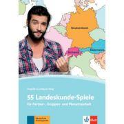 55 Landeskunde-Spiele. für Partner-, Gruppen- und Plenumsarbeit - Angelika Lundquist-Mog