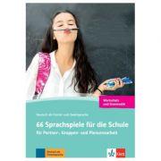 66 Sprachspiele für die Schule, Grammatik und Wortschatz. für Partner-, Gruppen- und Plenumsarbeit - Susanne Daum