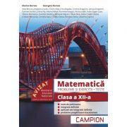 Matematica Probleme si exercitii, teste pentru clasa a XII-a - Marius Burtea