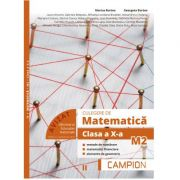 Culegere de matematica pentru clasa a X-a, profil M2. Metode de numarare, matematici financiare, elemente de geometrie (Semestrul II) - Marius Burtea