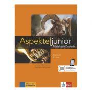 Aspekte junior B1 plus, Kursbuch mit Audios und Videos. Mittelstufe Deutsch - Ute Koithan, Tanja Mayr-Sieber
