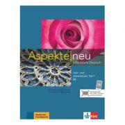 Aspekte neu B2, Lehr- und Arbeitsbuch mit Audio-CD, Teil 1. Mittelstufe Deutsch - Ute Koithan