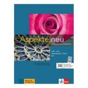 Aspekte neu B2, Lehr- und Arbeitsbuch mit Audio-CD, Teil 2. Mittelstufe Deutsch - Ute Koithan