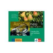 Aspekte neu C1, 3 Audio-CDs zum Lehrbuch. Mittelstufe Deutsch - Ute Koithan, Helen Schmitz