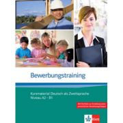 Bewerbungstraining. Kursmaterial Deutsch als Zweitsprache Niveau A2 - B1 - Nadja Fügert, Ulrike Richter