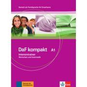 DaF kompakt A1. Intensivtrainer - Wortschatz und Grammatik - Birgit Braun, Margit Doubek, Rosanna Vitale