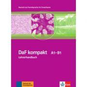 DaF kompakt A1-B1, Lehrerhandbuch - Ilse Sander