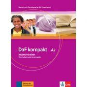 DaF kompakt A2. Deutsch als Fremdsprache für Erwachsene. Intensivtrainer - Wortschatz und Grammatik - Birgit Braun, Margit Doubek, Rosanna Vitale