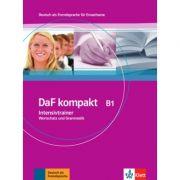 DaF kompakt B1. Deutsch als Fremdsprache für Erwachsene. Intensivtrainer - Wortschatz und Grammatik - Birgit Braun, Margit Doubek, Rosanna Vitale