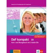 DaF kompakt B1. Deutsch als Fremdsprache für Erwachsene. Kurs- und Übungsbuch mit 2 Audio-CDs - Birgit Braun, Margit Doubek