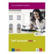 DaF kompakt neu A1, Kurs- und Übungsbuch mit MP3-CD. Deutsch als Fremdsprache für Erwachsene - Birgit Braun, Margit Doubek