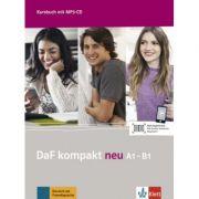 DaF kompakt neu A1-B1. Deutsch als Fremdsprache für Erwachsene. Kursbuch mit MP3-CD - Birgit Braun, Margit Doubek