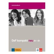DaF kompakt neu A1-B1, Lehrerhandbuch. Deutsch als Fremdsprache für Erwachsene - Ilse Sander, Nicole Schäfer