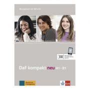 DaF kompakt neu A1-B1, Übungsbuch mit MP3-CD. Deutsch als Fremdsprache für Erwachsene - Birgit Braun, Margit Doubek