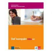 DaF kompakt neu A2, Intensivtrainer - Wortschatz und Grammatik. Deutsch als Fremdsprache für Erwachsene - Birgit Braun