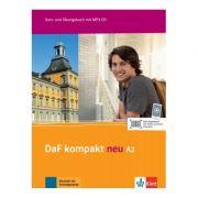 DaF kompakt neu A2, Kurs- und Übungsbuch mit MP3-CD. Deutsch als Fremdsprache für Erwachsene - Birgit Braun, Margit Doubek